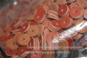 JkseZ pelle bovina spcer dimetro 6 8 10 12 14 millimetri imittion gsket Buddh perline 500 pezzi pad in pelle pad in pelle Buddha perline un pacchetto