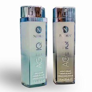في الأوراق المالية! Nerium Neora Age IQ Ad Cream Night Cream and Day Eye Cream 30ML العناية بالبشرة يوما الكريمات الليلية الختم