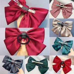 Accessori per capelli RwL5i bambino clip di capelli Ins netto di capelli del fiore rosso ragazze clip elegante Candy Tornante bordo clip