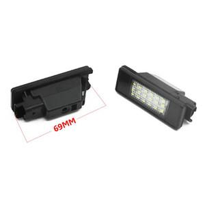 LED SMD License Plate Light For C2 3D C3 5D C4 3D C4 5D C5 4D C5 5D C6 4D C8 4D DS3 3D car