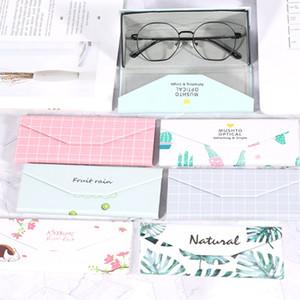 TTLIFE портативный складной очки Мода Flamingo Печать Солнцезащитные очки Box Case Handmade ВС очки Коробка для хранения