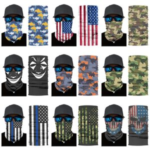 Off-Road Folding Racing Mountain Bike Sports Seamless Magic Headskull Scarf Breathable Sunscreen Skull Variety Skull Scarf Riding Starry #546