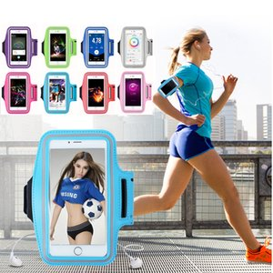 Mobile Phone Armband Holder Universal Outdoor Sport Running Case Jogging Gym Arm Band Pouch Bag for IPhone Xiaomi Sumsung Huawei