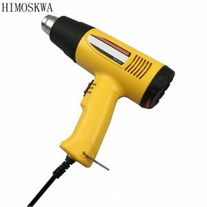 HIMOSKWA 1600W Temperatura regolabile Industriale Elettrico Heat Gun palmare pistola ad aria calda tXKX #