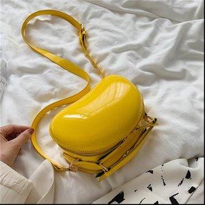 HISUELY Мода Cute Сладкий Сумка женская конструктор конфеты Форма Crossbody сумка высокого качества лакированные сумки мобильный телефон плеча