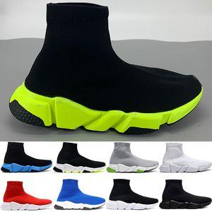 Paris instrutor velocidade sapatos meias casuais mens preto universidade verde vermelho alta branco volts bege moda das mulheres reais sneakers US 6-12