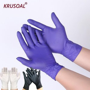 50pcs lot Disposable Latex Food Universal Household Garden Gloves Home Cleaning Rubber S M L Y200421