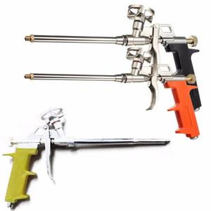 Black Orange Manual PU Spray Foam Gun Heavy Duty Good Insulation DIY Professional Applicator 312x140mm Length 28cm