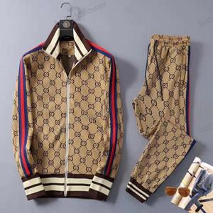 Gucci clothing Männer Sportbekleidung Luxus-Mode Hemden und Hosen Anzüge Trainingsanzüge Trainingsanzüge Traje deportivo Sport Pullover lässig Jogginghose