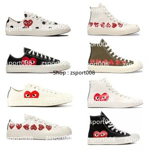 CDG PLAY x Converse 1970s all star shoes men's women's sneakers low cut classic Shoes