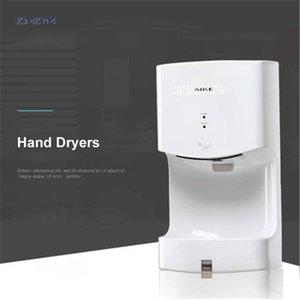 AK2630T-K mais recente Banho automático Secador de mão automático Hotel Jet Sensor mão Secadores domésticos para secar as mãos Máquina de 110V / 220V