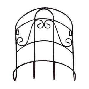Storage Rack Wall Mounted Sturdy Tidy Hanger Universal Decorative Water Pipe Organizer Garden Hose Holder Retro Iron Reel