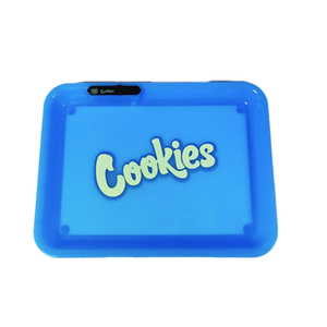 voice control led rolling tray cookies tray led light up rolling tray preroll runtz packwoods backwoods