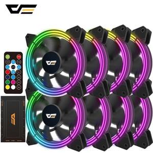 darkFlash CF11 Pro RGB PC Gehäuse-Lüfter 120mm Computer Case CPU-Lüfter Quiet Asus Aura Sync Cooler Geschwindigkeit LED PC einstellen Kühler