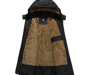 Wholesale-2017 Winter Mens White Duck Down Jacket 4XL 5XL Plus Size Warm Fleece Coat Ultra Light Feather Down Jacket Hooded55