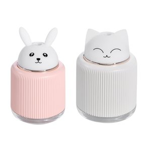 Cute Cartoon Cat Large Capacity Portable Desktop Air Humidifier USB Mist Maker Aroma Essential Oil Diffuser for Home Car