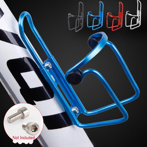 Bottle Holder New Aluminum Alloy Bike Bicycle Cycling Drink Water Bottle Rack Holder Cage Flask Cycling Accessories