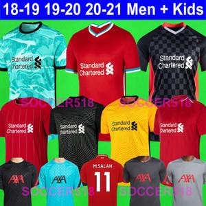 الرجال + الاطفال 2020 2021 ALEXANDER ARNOLD صلاح ماني فيرمينو الحارس فيرجيل قمصان كرة القدم ليفربول تياجو HENDERSON لكرة القدم الفانيلة