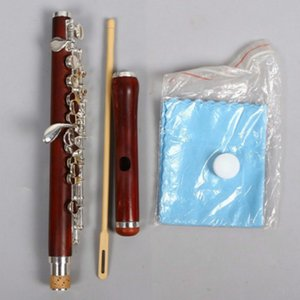 New Rosewood Piccolo c Key Silver Plated Beautiful Sound and Technique