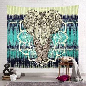 150 * 130см Богемский гобелен мандала пляжные полотенца Hippie бросить йогу коврик полотенце индийский полиэстер висит одеяло декор морской доставку HWB1961