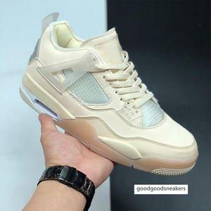 2020 Новый 4 Муслин Белый Черный Баскетбол обувь Мужчины Женщины 4s SP WMNS Sail Спорт Кроссовки с коробкой