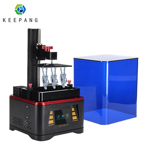 KP6 LCD SLA 3D الأشعة فوق البنفسجية طابعة طابعة LCD 3D خارج الخط طباعة Impresora دراكر Impresora الأشعة فوق البنفسجية الراتنج الخرز 28 مصباح