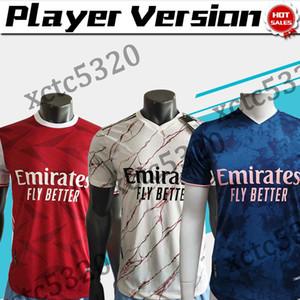 player version 2021 Gunners home red soccer jersey 20 21 PEPE gunners soccer shirt 2021 LA C A Z E T T E customized Football uniforms