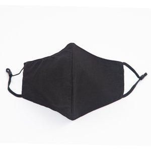 Лучшая маска качества Спорт Многоразовые Black Face Factory Защитная Washable ткань черный хлопок маска Бесплатная доставка