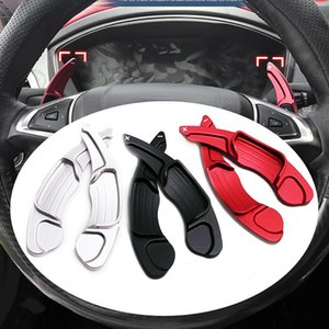 Aluminum Steering Wheel DSG Shift Paddle Shifter Gear Extension For Ford Mondeo  Fusion 13-19 Edge 15-19 Taurus auto car styling