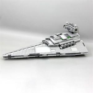 UU US В наличии 05062 1359PCS Super Star Imperial Star Superner Строительные блоки Кирпичи Детские игрушки Рождественский подарок 75055