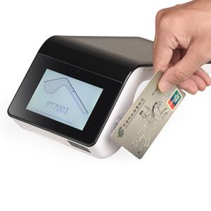 Taşınabilir Mini el NFC / Manyetik kart rader / Akıllı kart okuyucu Tüm yazıcı PT7003 ile bir faturalandırma terminalde