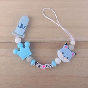 Para el chupete de plástico Alimentación Caso del pezón de la correa de soporte para botellas Correa Cadena de chupete para bebé ly_bags jllFFE