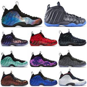 Penny Hardaway Vandalised scarpe da basket ariaFoampositeuno Fleece Melanzana alternativo Galaxy KNICK mens formatori Sneakers Sport