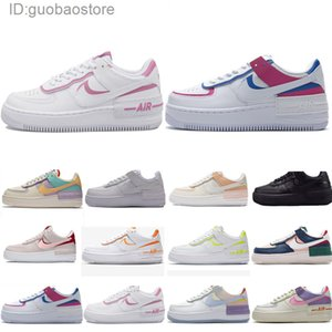 Nike Air Force 1 one AF1 ombre N354 de type chaussures running hommes femmes plate-forme triple Chaussures espadrilles blanc noir entraîneur des hommes de planche à roulettes de