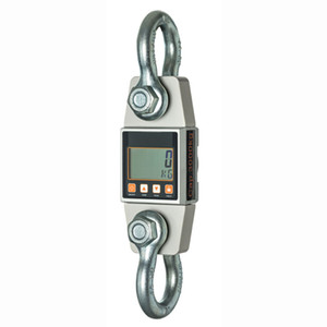 High Precision Weighing Scale Digital LCD Hanging Scale Crane Scale Aviation Aluminum Industrial Tension Meter Range 3000KG 3T