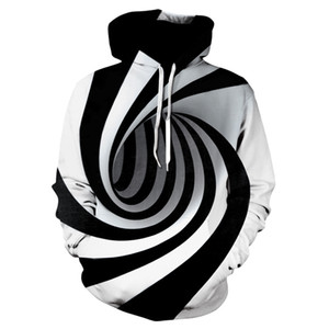 2.020 homens da moda outono redemoinho 3D digital impressão manga comprida com capuz superior camisola novo túnel redemoinho impressão do hoodie ocasional