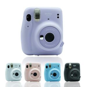 Nuovo Instax Mini 11 Telecamera istantanea Pellicola originale Viola / Freddo bianco / rosa / blu / grigio scuro 5 colori