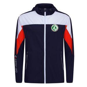 Unione Sportiva Авеллино F.C Новый Фитнес Спорт Футбол Перемычка теплая куртка с капюшоном Мужская куртка Одежда длинным рукавом для Unisex