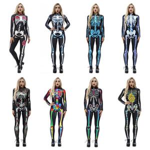 manches longues Halloween femmes performer Jumpsuit collants Halloween Cosplay Costumes parti Parti Décoration 8 T2I51450 de style