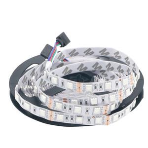 12V Led Strip Light SMD 5050 RGB NO Waterproof 60LED M Flexible LED Light for Christmas DIY Home Decoration