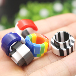 Rainbow 810 Drip Tip Resin Steel Colorful Wide Bore Mouthpiece Fit Goon 528 Kennedy 24 AV Battle Apocalypse Pyro TFV8 TFV12 Tank Vaporizer