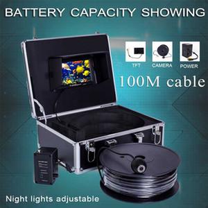 speciale cavo di alta qualità sott'acqua fishfinder sistema di telecamere / monitor SY802 impermeabile IP68 livello con 7 '' schermo opzionale DVR