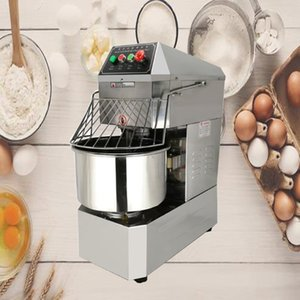 220V 1500W Fully Automatic Dough Kneading Machine Double Action Double Speed Flour Mixer Pasta Machine Kneading Machine Bakery Dessert Shop
