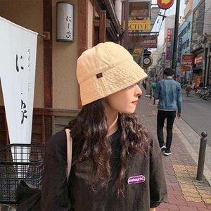 2xlws Kova Toque Kadın İlkbahar Yaz Kore Tarzı Balıkçı Ins Tarzı Kadın Geniş Brim Güneş Şapka Haki Rahat Varil Şapka