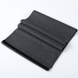 Man Scarves New Men's Autumn Winter Scarf Soft Solid Color Warm Scarves Shawl