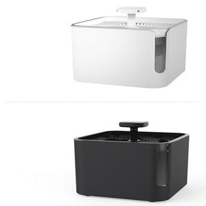 3L 360 ° circolazione filtrazione dell'acqua dispenser USB Charge automatico dell'animale domestico del gatto del cane alimentatore potabile fontana Gatti Fontana