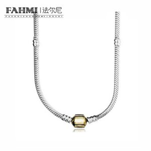 FAHMI New Fashion 100% 925 Sterling Silver 590703HG Charm Pendant Necklaces Women Necklaces Wholesale Jewelry Gifts