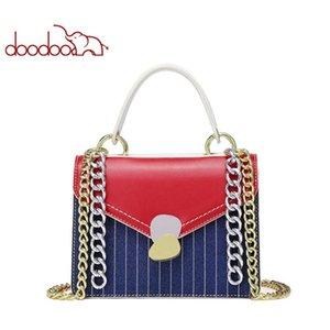 doodoo2020 New Fashion Women's Bags PU Leather Whip Bag Shoulder Handbags White Casual Chain Handbag Bag Wallet