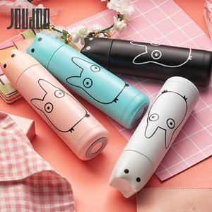 Cartoon Cute Totoro Rabbit Thermos Cup Stainless Steel Vacuum Flask Thermal Insulation Thermo Mug Girl School Water Bottle 35
