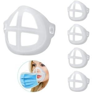 3D-Masken-Halter-Unterstützung Atem Assist Hilfe Mundmaske Innenstützkissen Bracket Food Grade Silikon Breath Ventil Kinder Erwachsene Maske